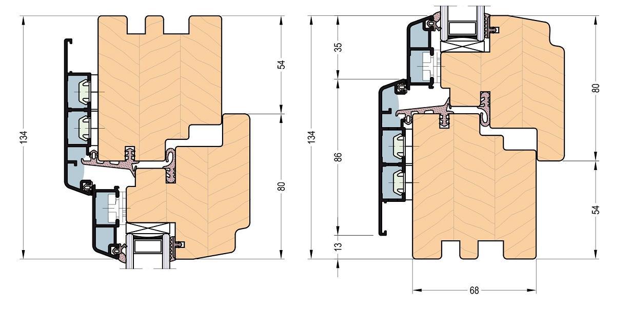 holz aluminiumfenster 68 thermo classic nach ma g nstig online kaufen wagart kaufen sie. Black Bedroom Furniture Sets. Home Design Ideas