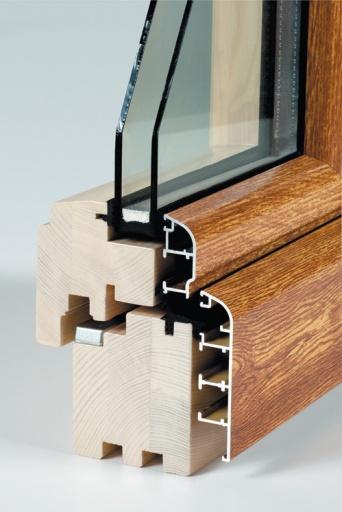 Holz aluminiumfenster 68 soft line nach ma g nstig online - Fensterladen holz gunstig ...